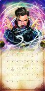 Doctor - Strange - 2016- Calendar - 2