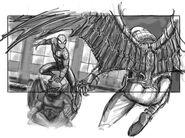Spider-Man 4 Storyboard 16