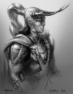 Thor Concept Art - Loki 008
