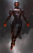 Andy Park AOU Ultron Concept Art 01