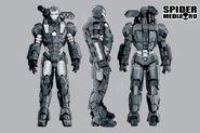 War Machine Suit
