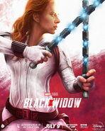 Black Widow SzarkaArt Poster