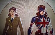 Captain Carter concept art