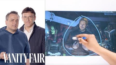 Infinity War's Directors Break Down the Thor and Guardians of the Galaxy Scene Vanity Fair