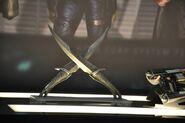 SDCC13 Drax's Daggers