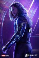 Avengers Infinity War Winter Soldier Poster