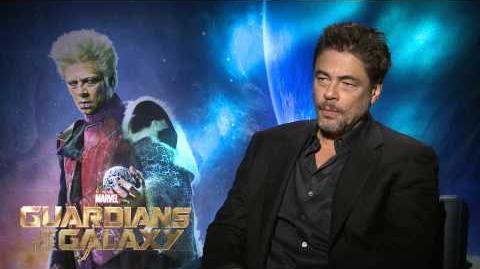 "Marvel's ""Guardians of the Galaxy"" - Benicio Del Toro Interview"