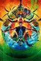 Thor Ragnarok Textless SDCC Poster