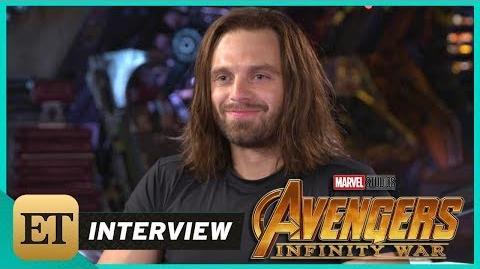 'Avengers Infinity War' Sebastian Stan (FULL INTERVIEW)