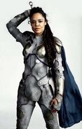 Brunnhilde as Valkyrie promotion in Avengers Endgame 2019