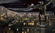 Hulk and abomination jumps toward chopper wallpaper