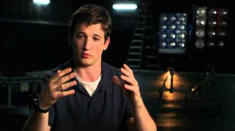 """The Fantastic Four Miles Teller """"Reed Richards"""" Behind the Scenes Movie Interview -2015"""