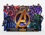 Avengers standee-InfinityWar promo