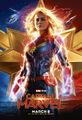 Captain Marvel Badge Poster
