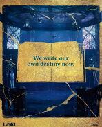 We Write Our Own Destiny's Now - Loki Poster