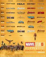 Marvel Studios IMAX Film Festival Schedule