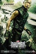 Inhumans Character Poster 03