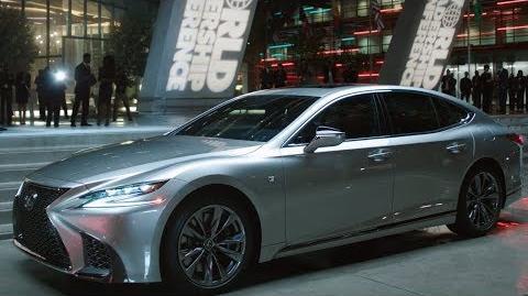 Lexus LS 500 F SPORT Marvel Studios' Black Panther Commercial