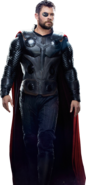 Thor Odinson render InfinityWar