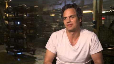 "Marvel's Avengers Age of Ultron Mark Ruffalo ""Bruce Banner The Hulk"" Interview"