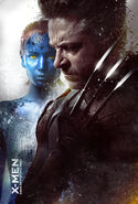 Mystique Wolverine poster