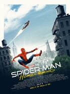 Spidey Homecoming 3D poster