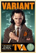 Loki TVA Character Posters 01