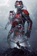 Ant-Man Shrinking Textless Poster