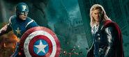 Cap and Thor Avenge