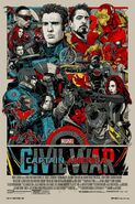 Mondo Captain America Civil War poster
