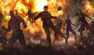 Guardians of the Galaxy Vol. 2 - Concept Art