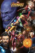 Thanos-Avengers Guardians InfinityWar
