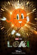 Loki Miss Minute Poster
