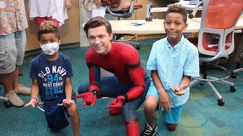 Seacrest Studios Atlanta Welcomes Spider-Man!