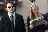 Matt Murdock and Karen Page