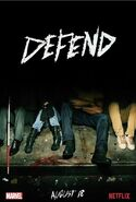 The Defenders Defend poster