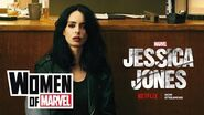 Krysten Ritter of Marvel's Jessica Jones on the Women of Marvel!