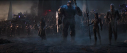 The Black Order's arrival on Earth