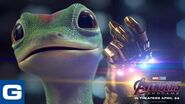 What happens when the Gecko wears the Infinity Gauntlet - GEICO Insurance