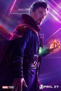 Doctor Strange InfinityWar poster