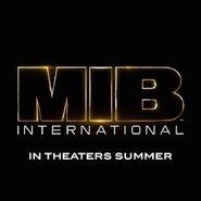 Men in Black International logo