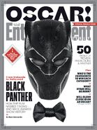 Black Panther EW Oscars Cover