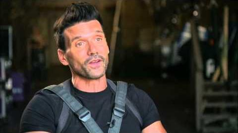 """Captain America The Winter Soldier Frank Grillo """"Brock Rumlow"""" Official On Set Interview"""