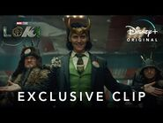 Exclusive Clip - Loki - Disney+