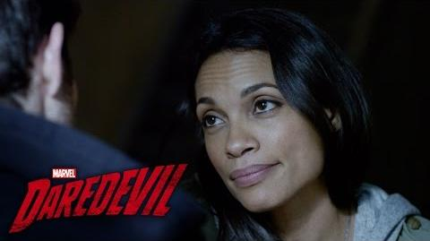 Claire Calls It Quits - Marvel's Daredevil The Complete First Season on Blu-ray Available Now!