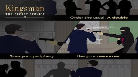 The Kingsman Way A Lesson In Holding Your Liquor 20th Century FOX