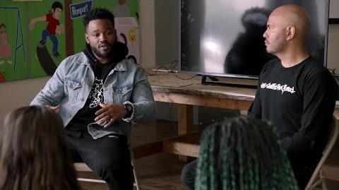 Black Panther - Ryan Coogler Surprises Students at Ghetto Film School Fellows Program