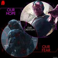 Vision Ultron-evolutionary creation