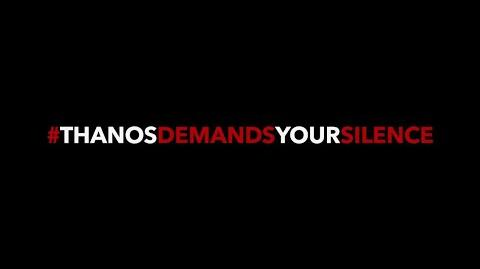 PSA Say No to Spoilers Marvel Studios' Avengers Infinity War
