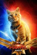 Captain Marvel Character Poster 10